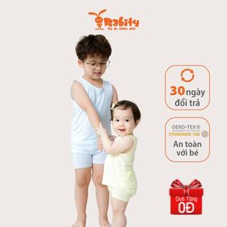 Bộ quần áo bé trai bé gái Rabity/ Bộ đồ trẻ em, set đồ mặc nhà cho bé từ 1 tuổi đến 6 tuổi (từ 9kg đến 20kg) 90057.90156