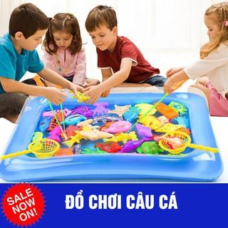 [Hỗ trợ giá] Đồ chơi trẻ em bộ câu cá và cát động lực_Hàng tốt