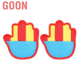 Goon Throw and Catch Ball Racket Game Activity Beach Outdoor Kids Playing Gloves Set Sticky Mitts Balls Toy