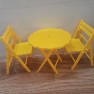 Bộ bàn ghế xếp cho búp bê