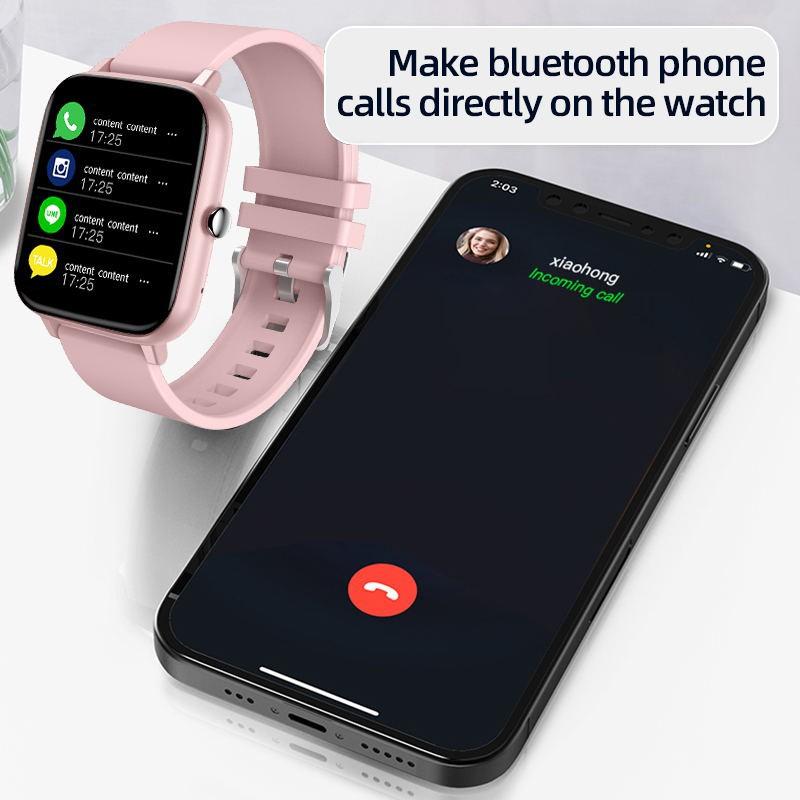 Đồng Hồ Thông Minh Đa Chức Năng Theo Dõi Sức Khoẻ Kết Nối Bluetooth