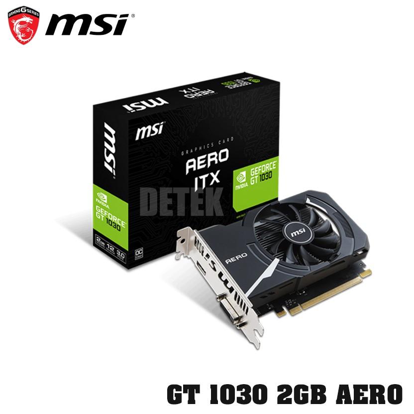 Card màn hình VGA MSI GT 1030 2Gb AERO