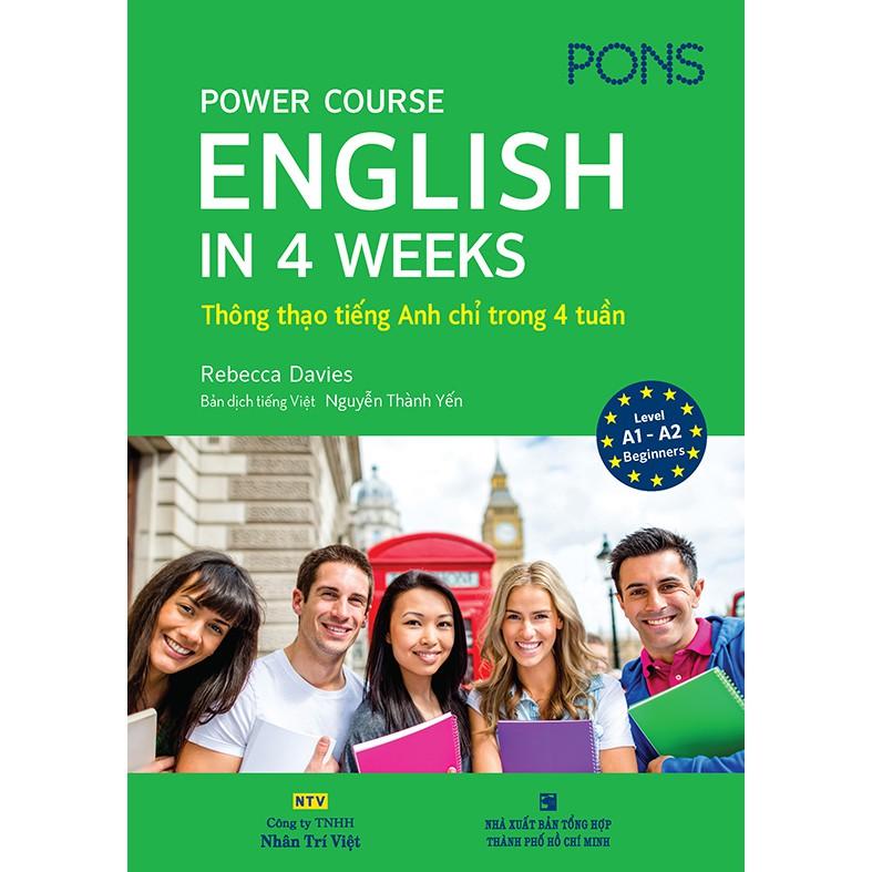 Power Course: English in 4 Weeks - Thông thạo tiếng Anh chỉ trong 4 tuần (kèm CD)