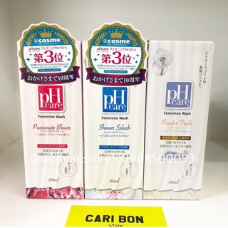 Dung dịch vệ sinh phụ nữ PH Cảe 150ml Nhật Bản thumbnail