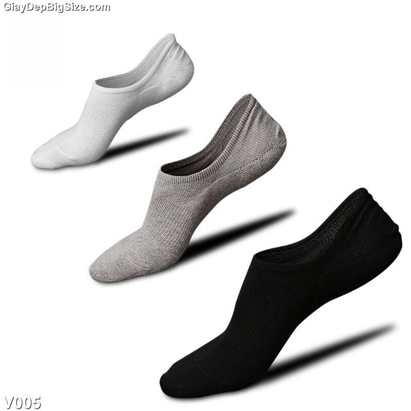 Vớ tất nam big size cỡ lớn 44-48 dành cho giày tây và giày thể thao