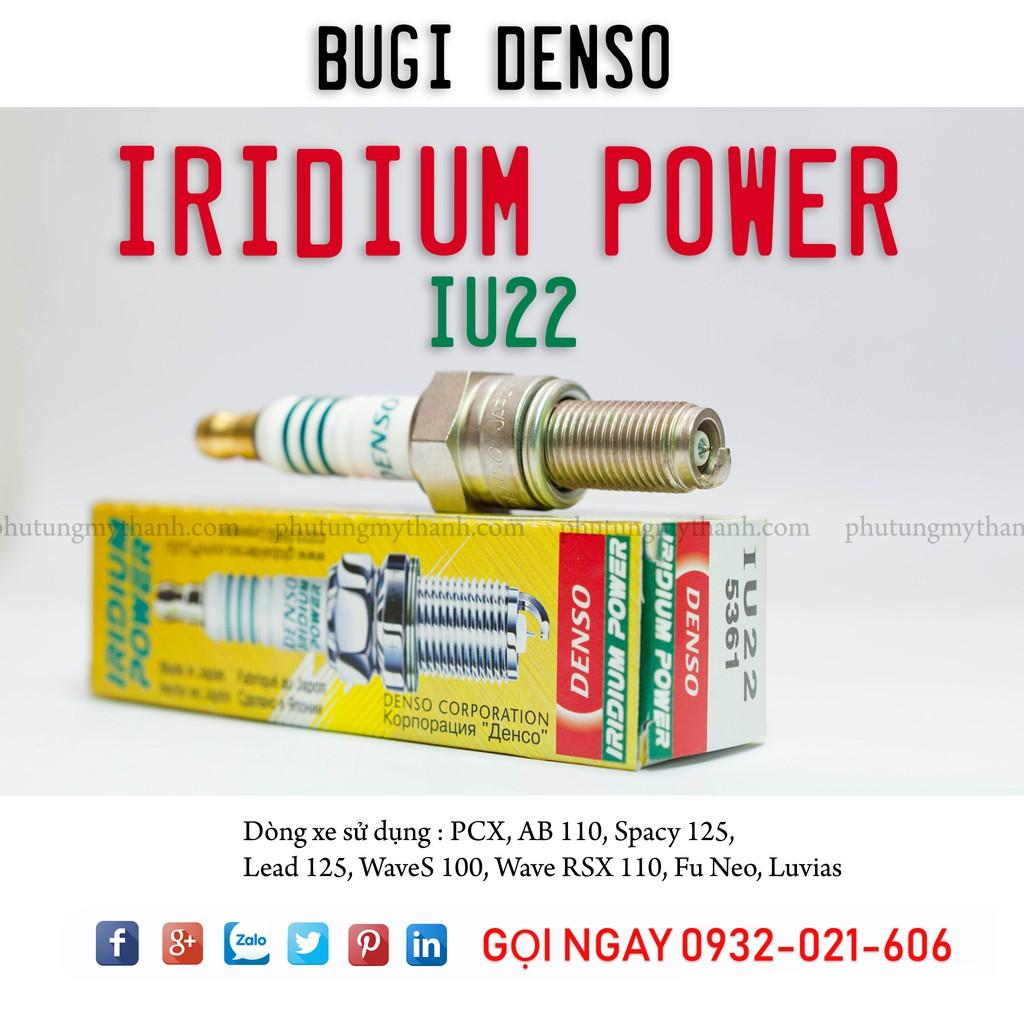 Denso Iridium IU22 - Nhập khẩu Nhật Bản - Giá tốt nhất HCM