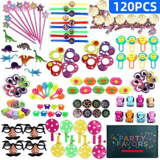 120 pieces of assorted gifts children's gift bags, holiday party supplies, pinata packing [MOP]