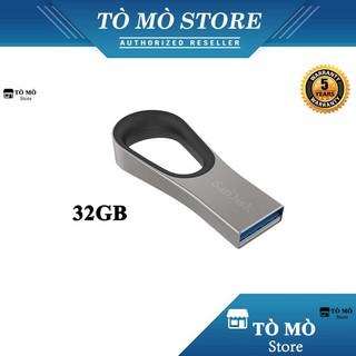 [Mã ELFLASH5 giảm 20K đơn 50K] USB 3.0 SanDisk Ultra Loop CZ93 32GB tốc độ đọc 130MB/s - Bảo hành 5 năm