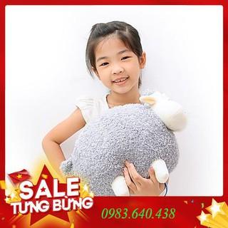 Gấu bông cừu xám đáng yêu 40cm