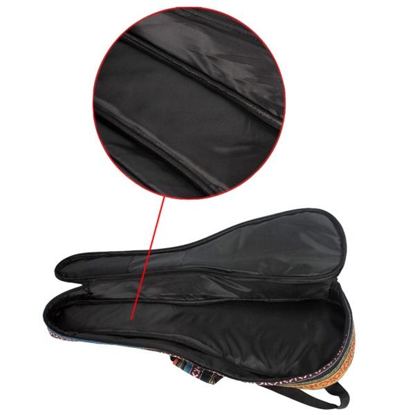 21/23/26 Inch National Style Guitar Bag Portable Guitar Ukulele Case Box Cover Guitar Backpack