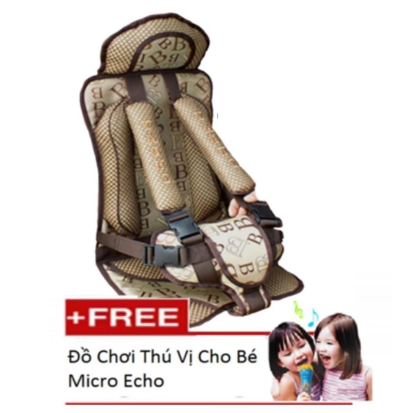 Ghế Ngồi Đa Năng Cho Bé Trên Xe Otô + Đồ Chơi Thú Vị Micro Echo 116 303