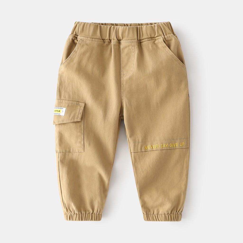 Quần kaki jogger bé trai, quần dài bé trai phong cách hàn quốc