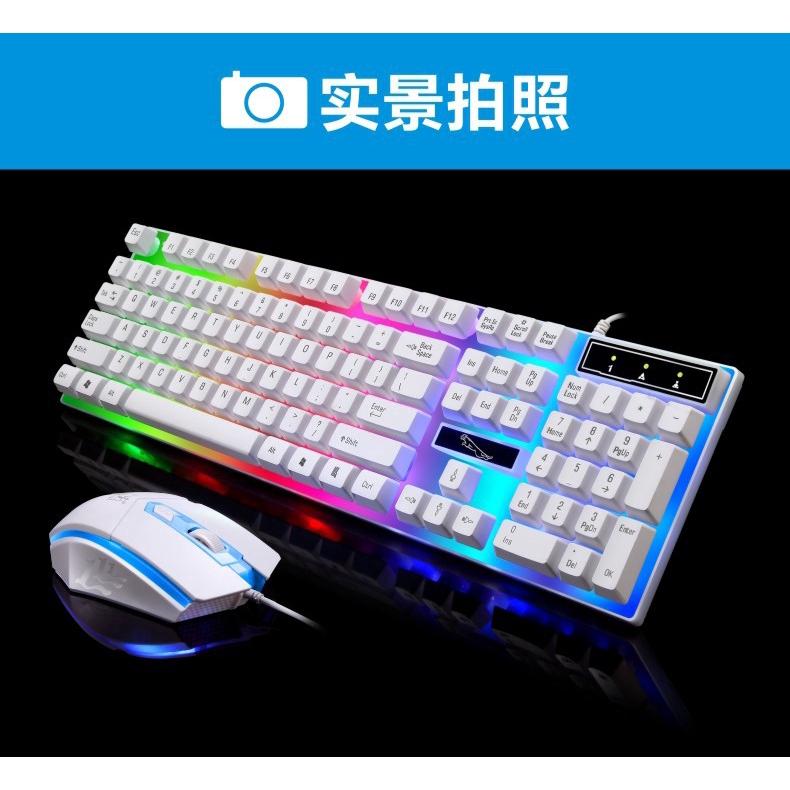 Chuột Gaming G21 Có Dây Đèn Nền