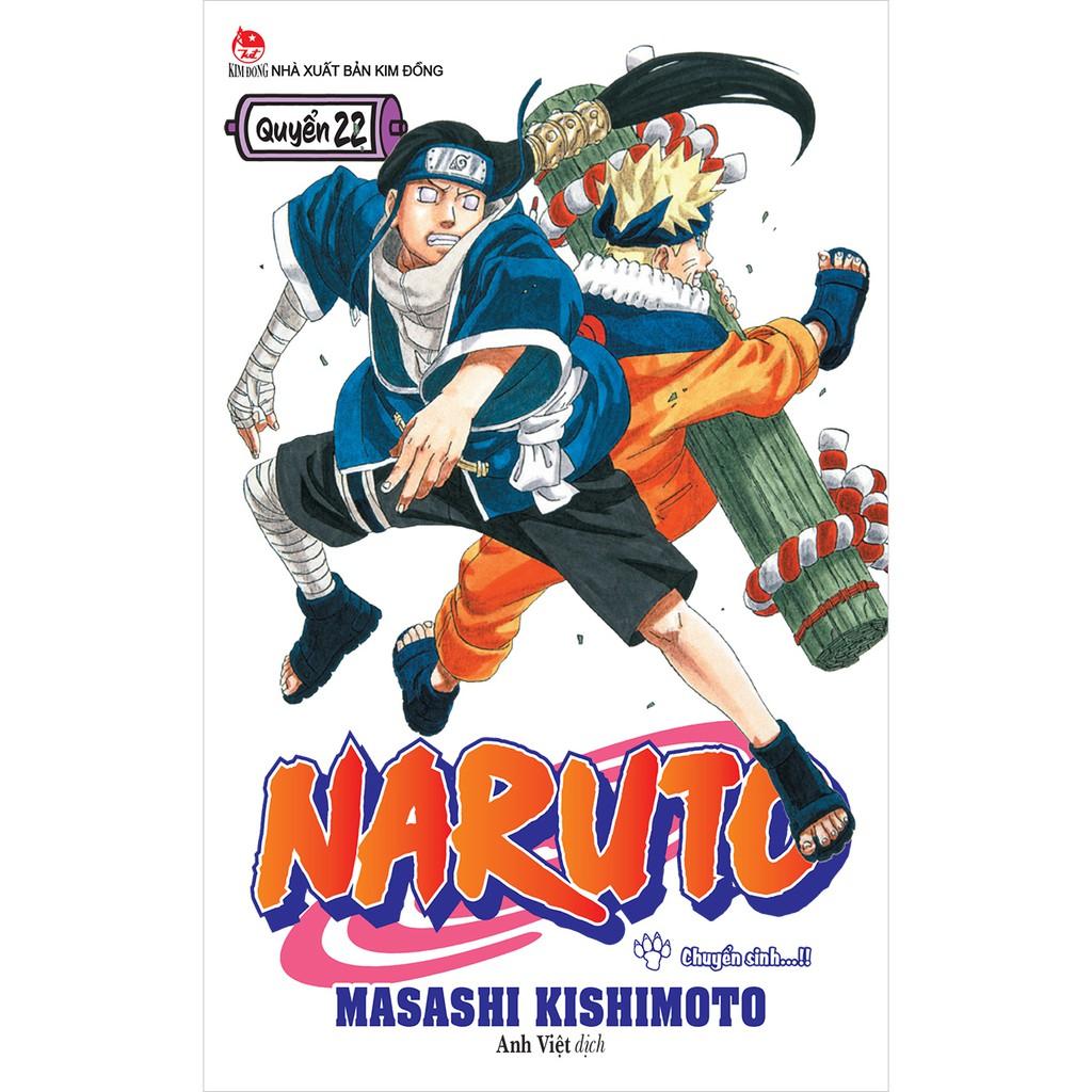 Truyện tranh Naruto lẻ định kỳ (update tập 22 mới nhất)