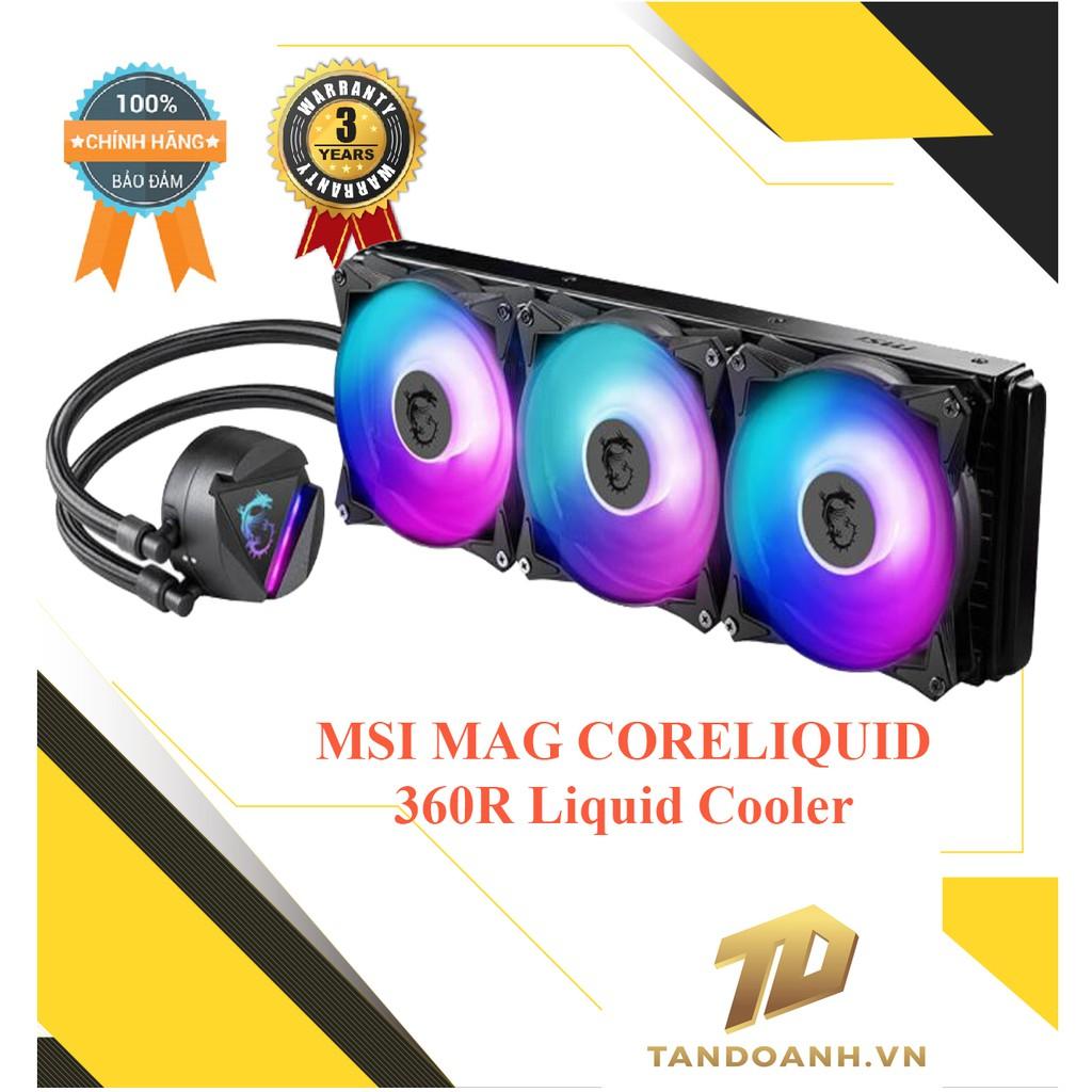[Mã SKAMA07 giảm 8% đơn 250k]TẢN NHIỆT NƯỚC MSI MAG CORELIQUID 360R Liquid Cooler