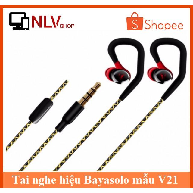 Tai nghe thể thao BayaSolo V21 Super Bass (Đen - Trắng) - 2682666 , 1334532988 , 322_1334532988 , 50000 , Tai-nghe-the-thao-BayaSolo-V21-Super-Bass-Den-Trang-322_1334532988 , shopee.vn , Tai nghe thể thao BayaSolo V21 Super Bass (Đen - Trắng)