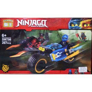 lego ninjago moto tia sét sa mạc của jay SW706