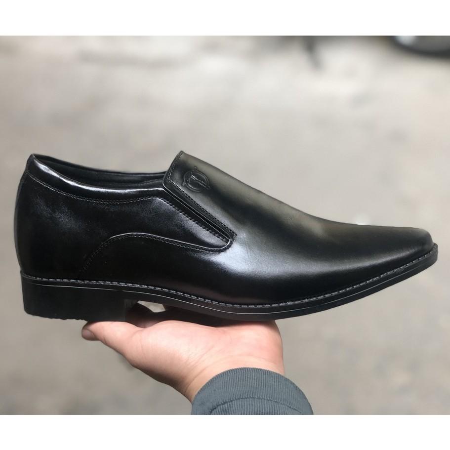 Giày Tăng chiều cao dành cho tuổi trung niên giúp tăng chiều cao lên tới 7cm chất liệu làm bằng da bò 100%.