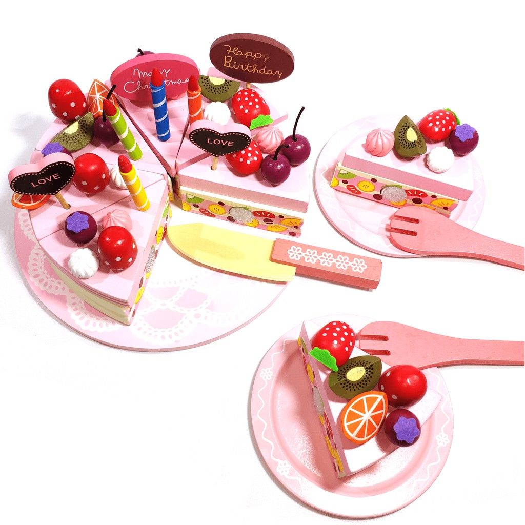 Đồ chơi gỗ – Bánh kem sinh nhật Vivitoys