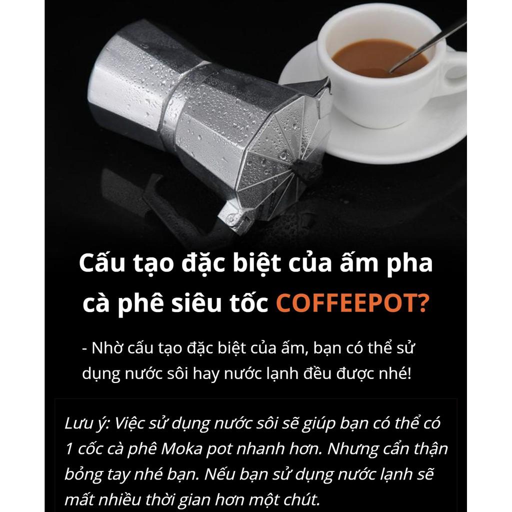 Bình pha cafe tự động, bình pha cafe kiểu ý