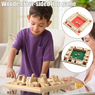 [d] Wooden Board Game A Classic Family Math Game for Kids Family Party Gift Durable