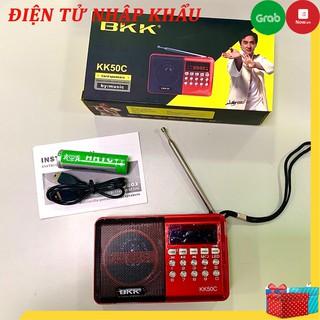 Loa nghe nhạc BKK KK50C, cắm USB, thẻ nhớ, nghe đài FM, nghe nhạc tiện dụng - Bh 6 tháng thumbnail