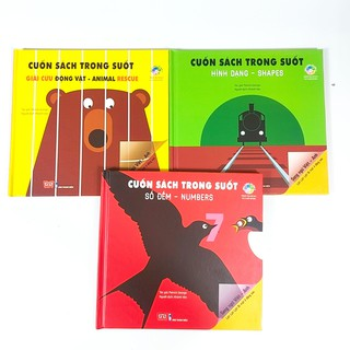Sách trong suốt song ngữ cho bé 0-3 tuổi thumbnail