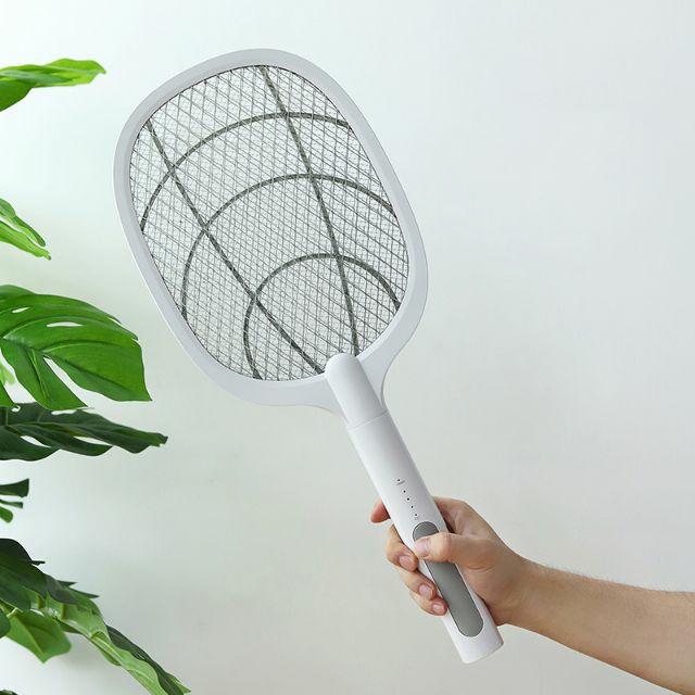 vợt muỗi thông minh 3 in 1, vượt muỗi kiêm đèn ngủ,đèn bắt muỗi