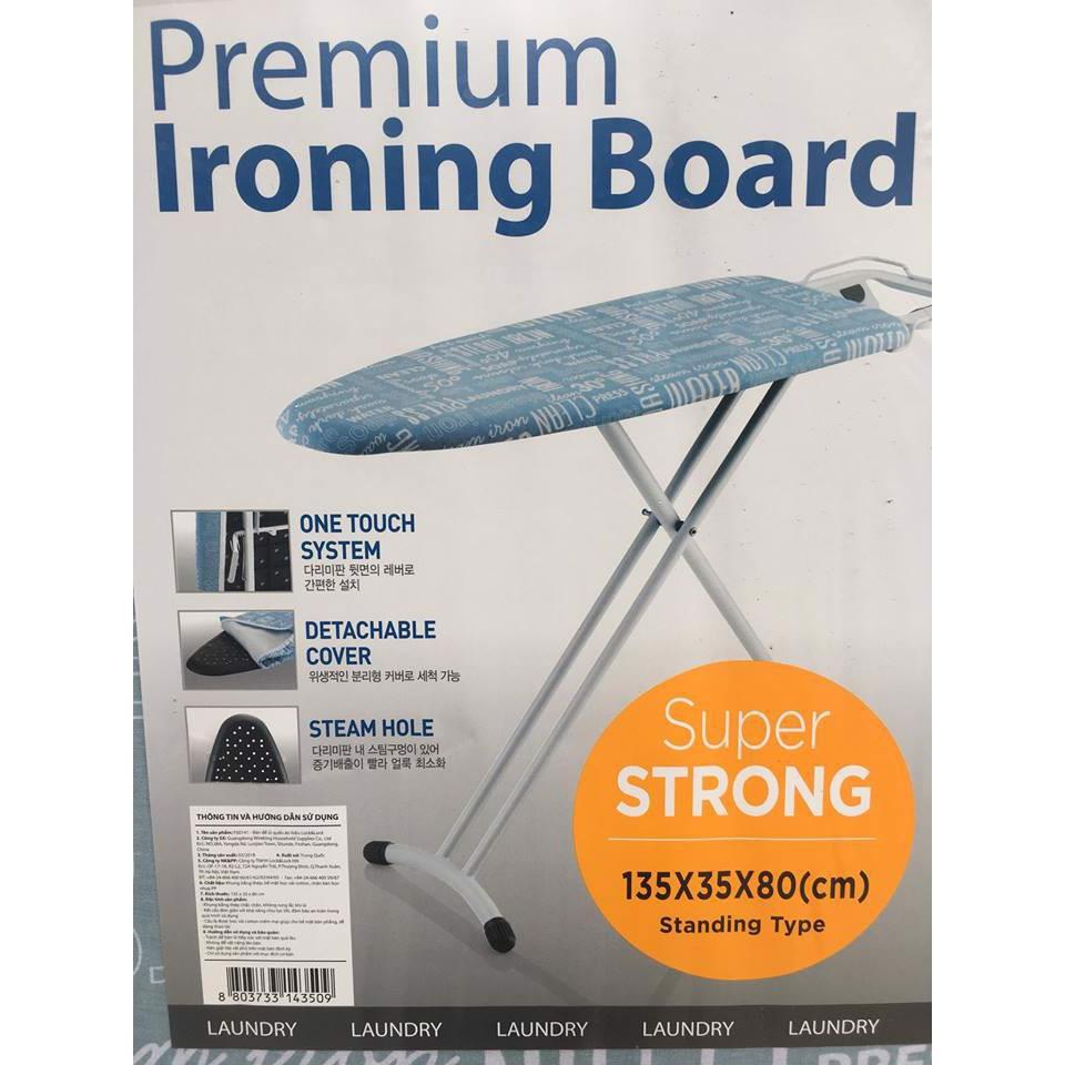 Cầu Là Chân Cao Premium Ironing LockNLock F00141 Hàng Chính Hãng