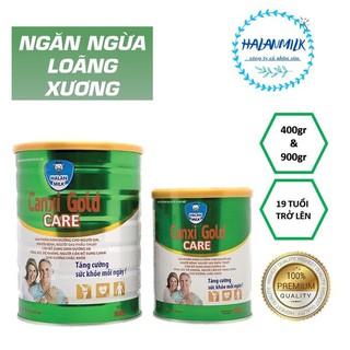 Sữa ngăn ngừa loãng xương Canxi Gold Care HALAN MILK 400gr/900gr