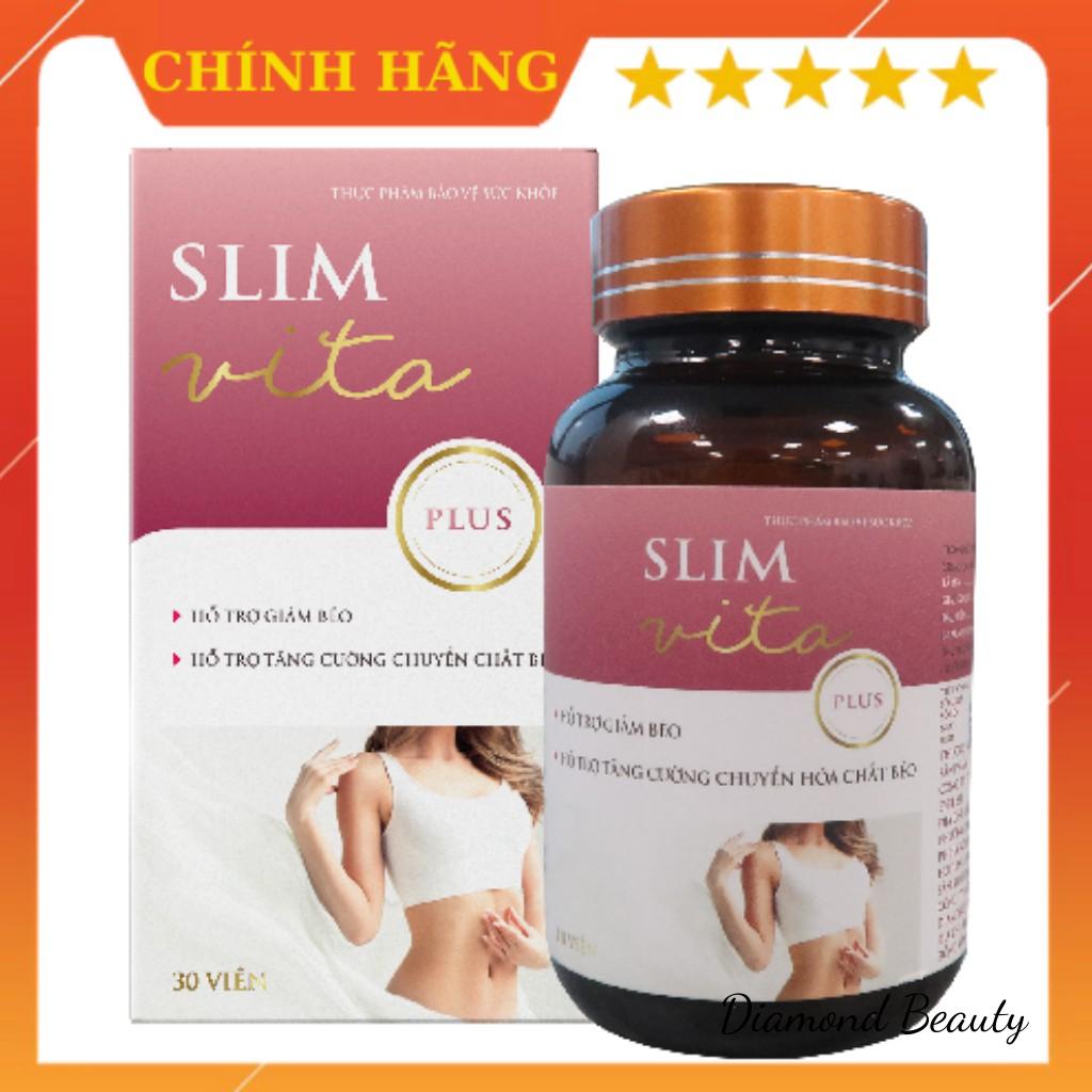 Viên uống giảm cân Slim Vita Plus 30 viên, dòng cải tiến của Slim Vita