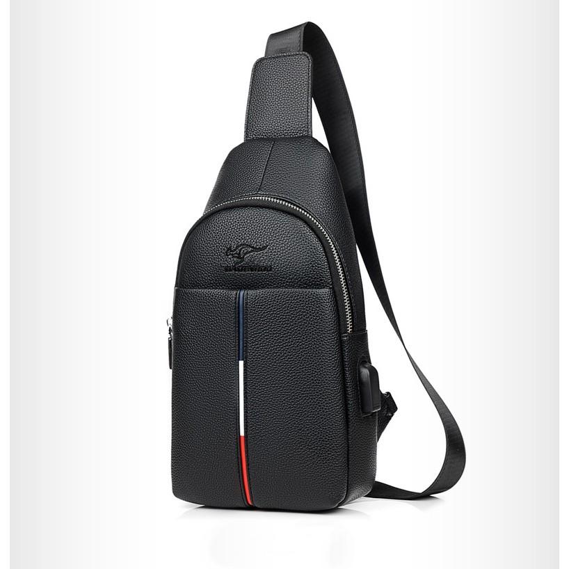 Túi đeo chéo nam da PU thời trang TX 9110