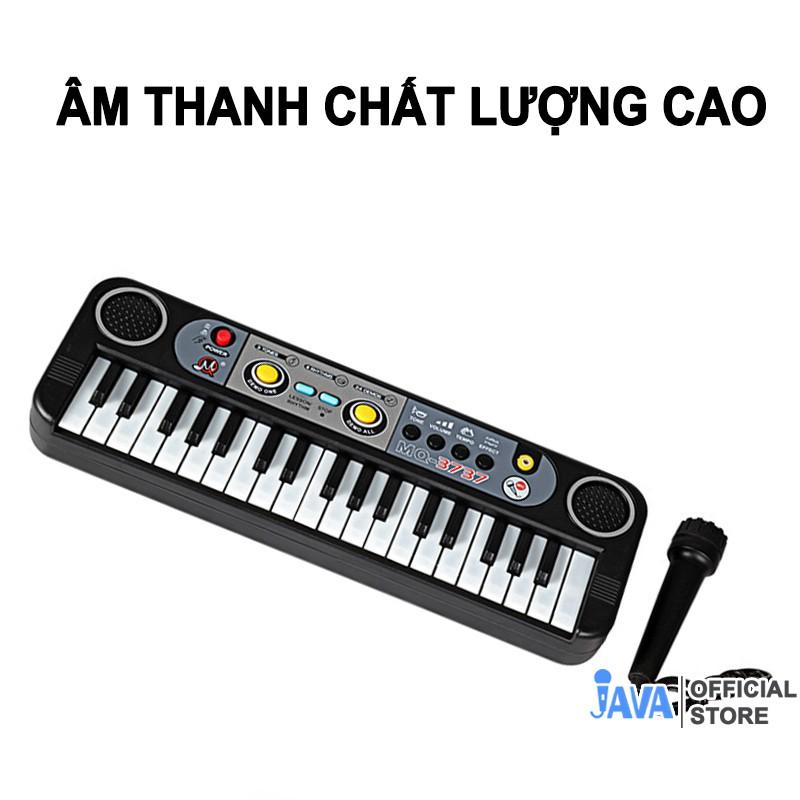 [ TẶNG MIC CÓ DÂY CAO CẤP ] Đàn ORGAN 37 phím Piano - Âm thanh chất lượng