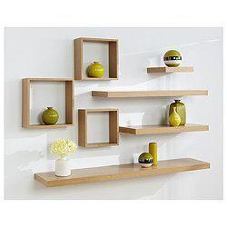 COMBO 3 thanh ngang  60cm x sâu 15cm kệ treo tường gỗ ( đen,nâu,vàng,trắng )