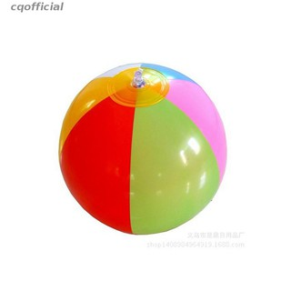 cqofficial Children'S Toys/Color PVC Inflatable Six Three Pieces Of Beach Ball Available