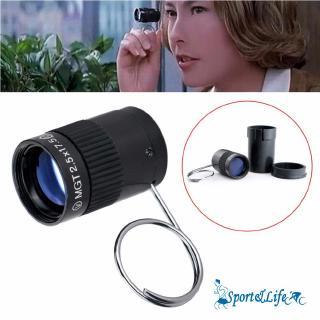 SL-2.5×17.5 HD Mini Portable Handheld Finger Buckle Pocket Monocular Telescope AU
