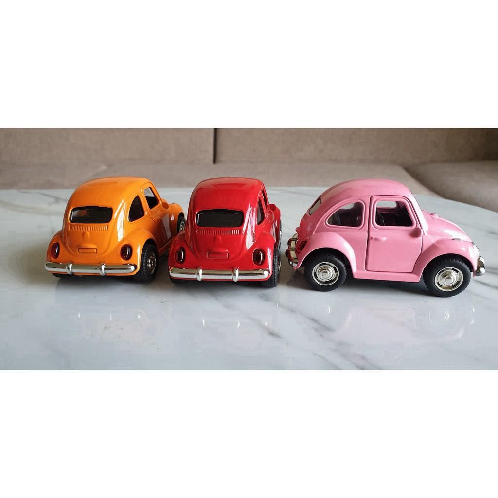 DXV Xe mô hình đồ chơi ô tô cá tính cổ điển, chất liệu kim loại, mang led phát sáng,...