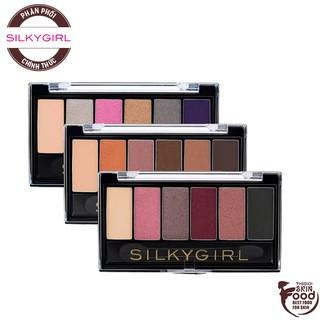 Bảng Phấn Mắt 6 Màu Xinh Xắn Cho Đôi Mắt Lung Linh Silkygirl Truly Nude Eye Shadow Palette 6g thumbnail