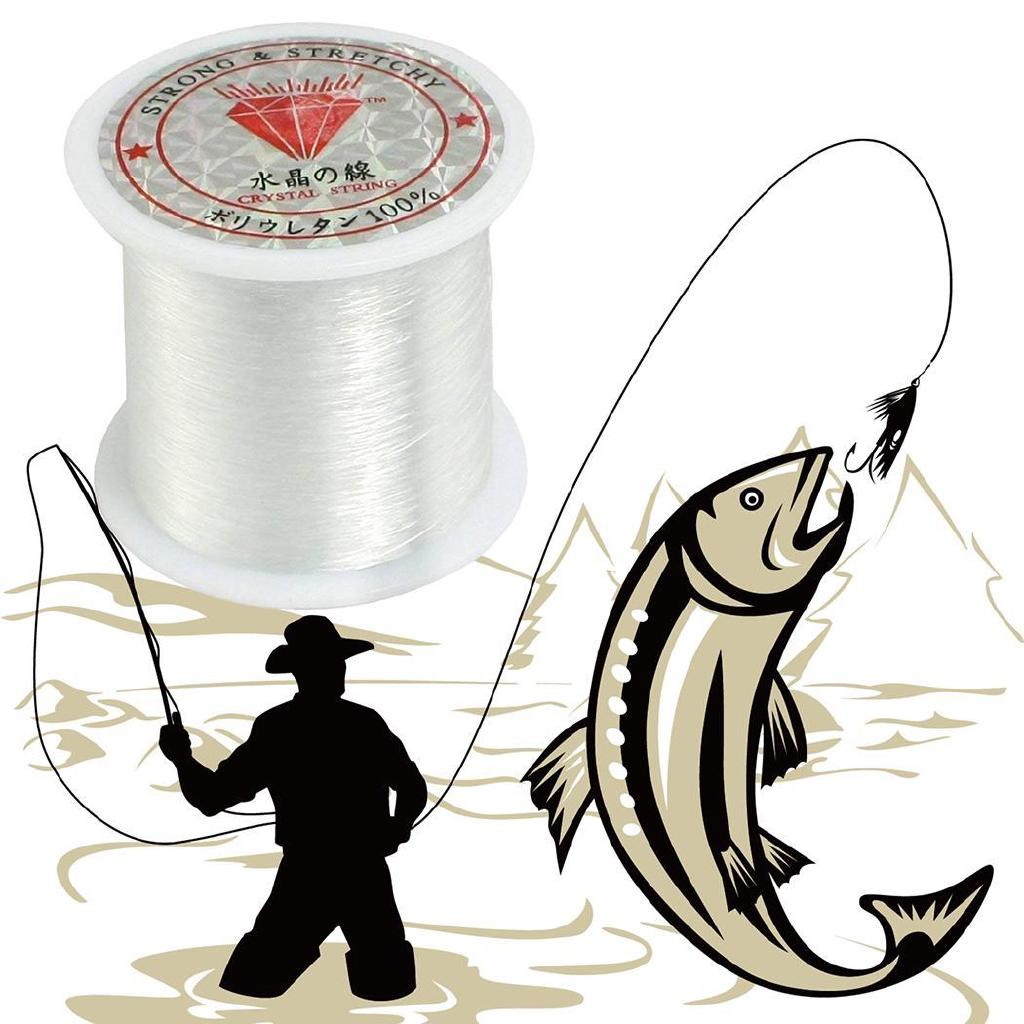 ansparent Nylon Fishing Line without Elastic Fish Wire topg