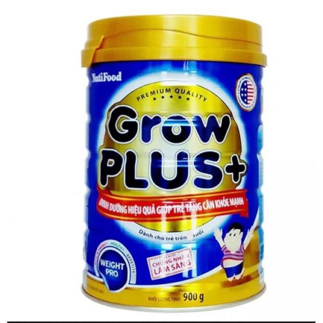 Sữa bột grow plus xanh/đỏ 900g và 1,5kg(Date 2022)