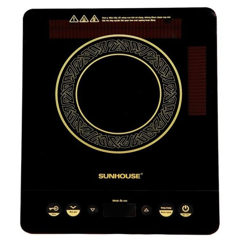 Bếp hồng ngoại cảm ứng Sunhouse SHD6020 trắng