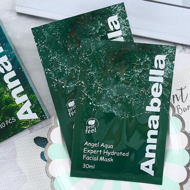 Mặt Nạ Tảo Biển Annabella Angel Aqua Expert Hydrated Facial Mask 30Ml