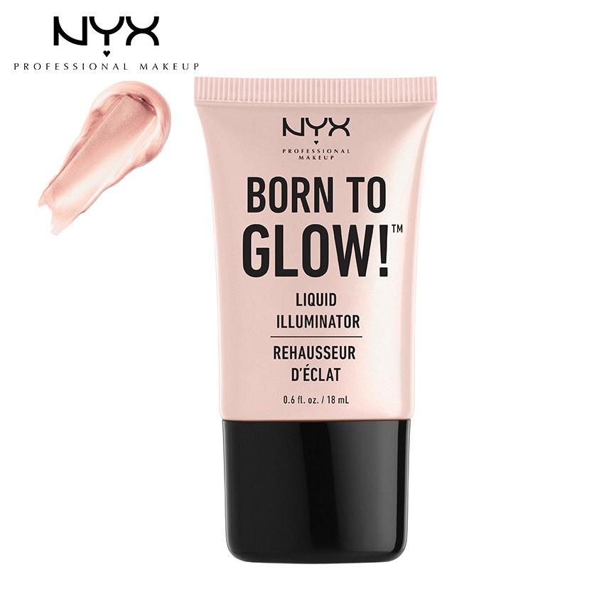 Kem bắt sáng NYX Professional Makeup Born To Glow™ Liquid Illuminator LI01 Sunbeam - 18 ml_800897818 - 3117544 , 757647395 , 322_757647395 , 250000 , Kem-bat-sang-NYX-Professional-Makeup-Born-To-Glow-Liquid-Illuminator-LI01-Sunbeam-18-ml_800897818-322_757647395 , shopee.vn , Kem bắt sáng NYX Professional Makeup Born To Glow™ Liquid Illuminator LI01 Su
