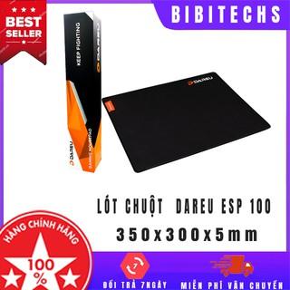 Miếng lót chuột gaming Dareu ESP100 ⚡ Freeship ⚡ bàn di cỡ 350x300x5mm, pad chuyên game chính hãng – BiBiTechs