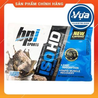 Sữa tăng cơ Sample BPI Sports – ISO HD (30 gói) – Authentic 100%