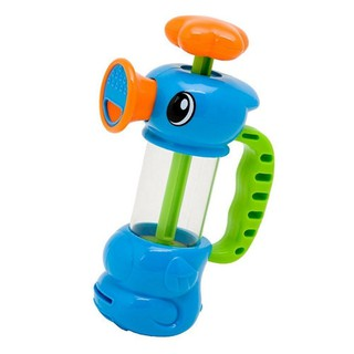 Pump Pumping Spray Water Duck Bath Shower Playing Toys For Kids Baby
