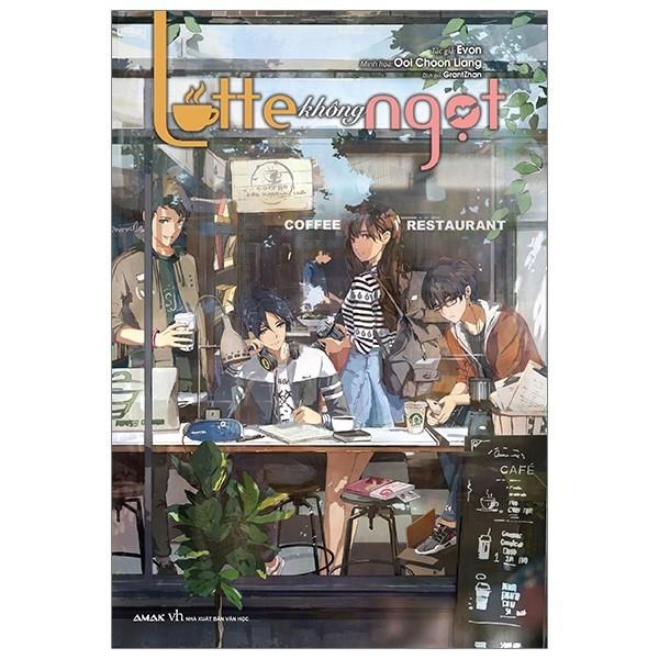 Sách Latte Không Ngọt - Light Novel - IPM