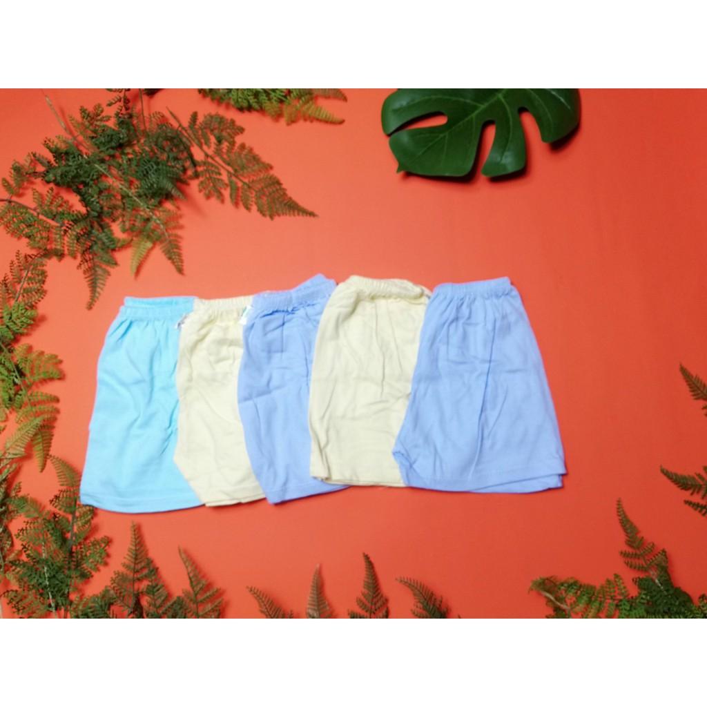 [sơ sinh < 26kg] QUẦN COTTON TRẮNG CHO BÉ - quần đùi/ quần dài