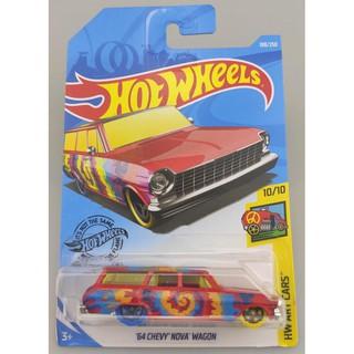 Xe mô hình Hot Wheels '64 Chevy Nova Station Wagon FYF21
