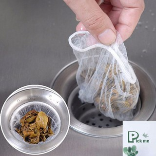 Bộ 100 túi lọc rác thông minh bồn rửa , chặn rác bồn rửa thumbnail